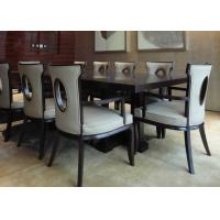 Buy cheap Traditional Rectangular Modern Dining Room Tables For Hotel Furniture Sets product