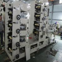 Quality RY480-5C Five colors UV dryer flexo printing label machine Speed 60 m per minute for sale
