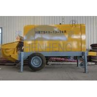 Buy cheap High Performance Diesel Concrete Pump 23 Mpa Pumping Pressure Easy To Move product