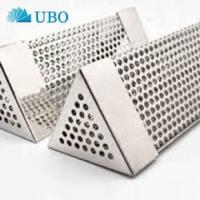 Buy cheap 6 Inches Stainless Steel Triangular BBQ Smoking Tubes product