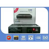 Buy cheap Afghan Smart Tv Boxes HD DVB T2 Terrestrial Receiver With Nxp Rf Signal Amplifier product