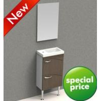 Buy cheap Small European MDF Bathroom Cabinet Vanity Furniture Set (BV002) product