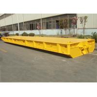 Buy cheap 80T Capacity FlatBed Roro Mafi Trailer , 60 Feet Roro Container Ship Trailer product