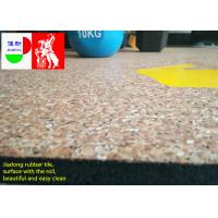Buy cheap Fitness Center Interlocking Rubber Floor Tiles , Industrial Rubber Matting Roll product
