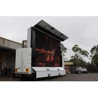 Buy cheap PH10 Truck Trailer Mounted LED Screen for Working Temp -20°C - 50°C product