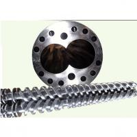 Buy cheap High Precision Conical Twin Screw And Barrel  Plastic Extruder Parts product