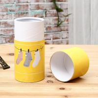 Buy cheap Cardboard Cylinder Paper Box Packaging Round / Customized Shape 350g product