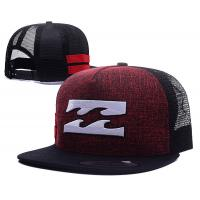 Applique Logo Cotton 5 Panels Mesh Back Hip Pop Trucker Hat Snapbacks