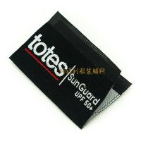 Quality Centerfold Custom Woven Tags For Clothing , Woven Brand Labels Low Minimum for sale