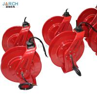 Buy cheap 10~20m DMX Cable Retractable Hose Reel 32A Power Cord Transmit Audio / Light / Video product