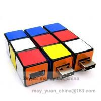 Buy cheap U disk toys intellectual Rubik new colored plastic twister usbs promotional gift product