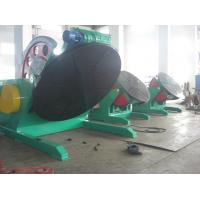 China Automatic Tilting Welding Positioner Turntable 20T For Pipe / Tank on sale