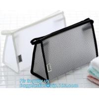 China Travel Accessories Makeup Organizer Mesh Cosmetic Bag Makeup Pouch, Purse Size Cosmetic Bag, Pocket Daily Net Fabric Mak on sale