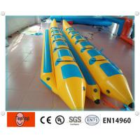 Buy cheap 0.9mm PVC Tarpaulin Inflatable Fishing Boat With Double Tubes For Water Games product