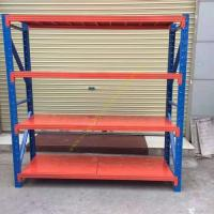 Buy cheap Custom Fitted Warehouse Storage Racks / Medium Duty Steel Pallet Rack Shelving from Wholesalers