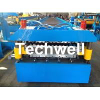 China Custom and High Speed Double Sheet Roll Former / Roll Forming Machine With 18 Stations on sale