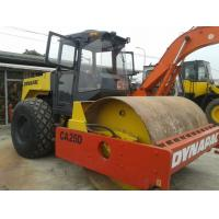 Buy cheap Dynapac Used Road Construction Equipment 10 Ton Compact Power from wholesalers