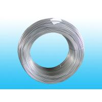 Galvanized Bundy Pipe , Electriced Coating Zn Steel Pipe 6 * 0.7 mm
