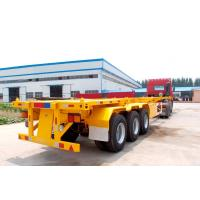 Buy cheap TITAN Container Delivery Chassis Trailers 40 Ft Container Semi Trailer price product