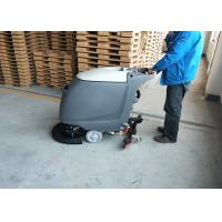 Buy cheap 18 inch Brush Commercial Floor Scrubber Machine With Adjustable handle from wholesalers