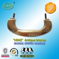 Buy cheap Zinc Alloy Coffin Handle H042 Metal Handle For Coffin And Casket product