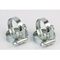 Zinc Plated Steel Non Perforated Hose Clamps Germany Type No Welded