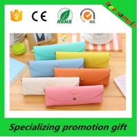 China gorgeous Promotional Stationery personalised leather pencil case on sale