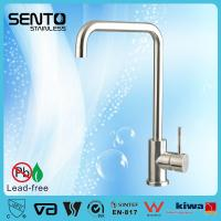 Buy cheap SENTO Cheap stainless steel Kitchen sink faucet manufacture factory,CUPC Certificated product