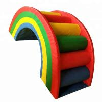 Buy cheap Rainbow Style Indoor Soft Play Equipment , Colorful Commercial Play Equipment product