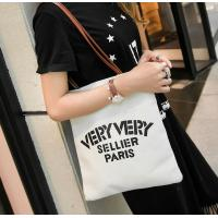 Buy cheap Canvas shoulder bag leisure female bag bucket casual Korean version of the hand-held fashion trend letter product
