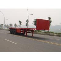 China 3 axle 40FT Flatbed container semi-trailer on sale