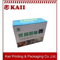Buy cheap 20.5x8.5x17CM Or OEM Size Color Corrugated Boxes / Corrugated Paper Box For Fruit product