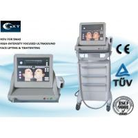 Buy cheap Vertical HIFU Machine , Skin Treatment Equipment 15 inches Touch screen product