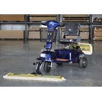 Buy cheap OEM / ODM Wireless Floor Mopping Machine Dust Cart Scooter 900MM Cleaning Width from wholesalers