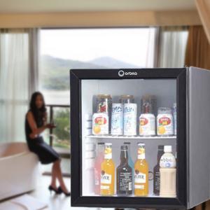 Buy cheap 60L absorption glass door minibar product