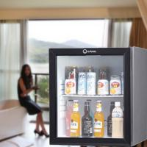 Buy cheap 60L upright glass door minibar product