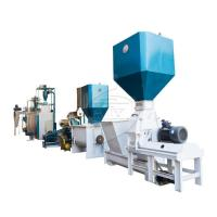 Buy cheap High Working Efficiency Floating Fish Feed Production Line Pelletizing Machine product