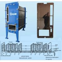 Buy cheap Climbing Rising Film Titanium Phe Heat Exchanger Concentrate High Efficiency Juice Food Processing product