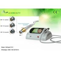 Buy cheap No down time fractional RF skin tightening micro needle skin care machine with 0.25-3mm product