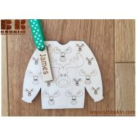 Buy cheap Personalised wooden name Christmas Decoration, Christmas Jumper, Tree Decoration, Christmas Gift, Christmas Star, reinde product