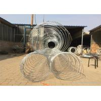 Buy cheap Concertina Razor Barbed Wire / Hot Dipped Galvanized Razor Wire product