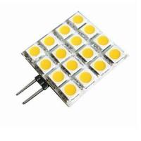 Buy cheap Custom 180lm 5050SMD 12V 3W G4 Led Lamps Halogen Bulb Replacement 16pcs product