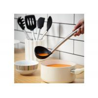 Buy cheap Stainless Steel Silicone Cooking Utensils Set5 Pieces 100% Food Grade Material product