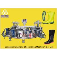 Buy cheap Automatic Plastic Shoes Injection Molding MachineFor Rain Boots / Gumboots product