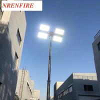 Buy cheap Fire Tender Mounted 7.6m Telescopic Mast Light Tower/ Pneumatic Telescopic Mast product
