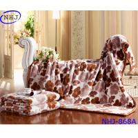 China Luxury Home Use 100% Raschel Blanket Made In China on sale
