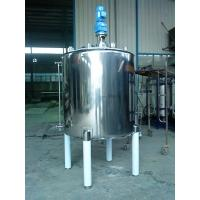 Buy cheap Thick / Thin Agitator Mixing Tank Adopts Vertical Circular Tanks from Wholesalers