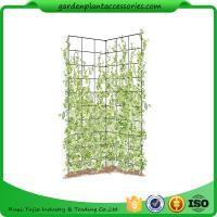 """Buy cheap Two Panel Folding Screen Trellis , Garden Trellis Plant Support 35-1/2"""" W x 58"""" H overall  Powder-coated steel product"""