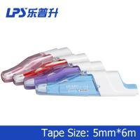 Japanese Retractable Correction Tape Pink Colored Correction Tape Titanium Dioxide