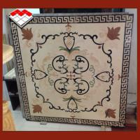 Buy cheap Cut - To - Size Water Jet Medallion , Polished Marble Medallion Floor Tile product